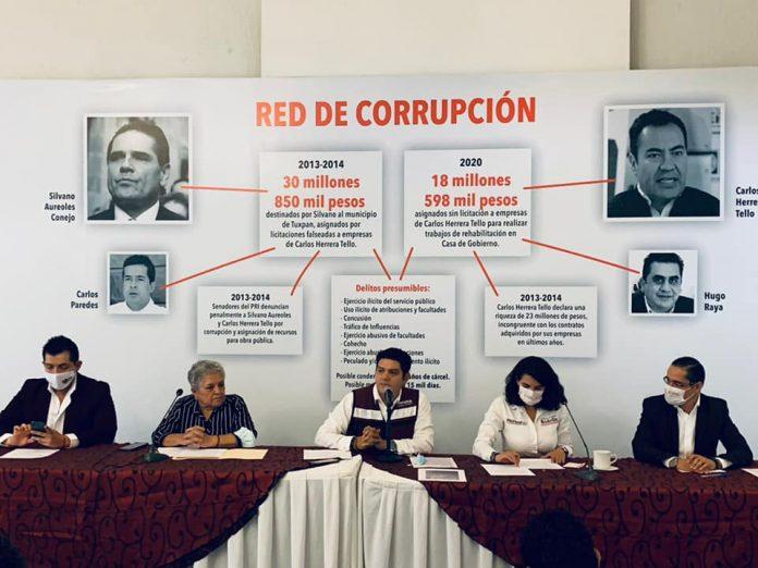 Morena prepara un fraude en Michoacán: PRI-PAN-PRD