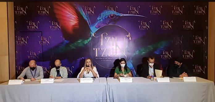 """Del 24 de junio al 11 de julio, se realizará en el Teatro """"Matamoros"""" de Morelia, la primera temporada del espectáculo multidisciplinario Tzin Tzun"""