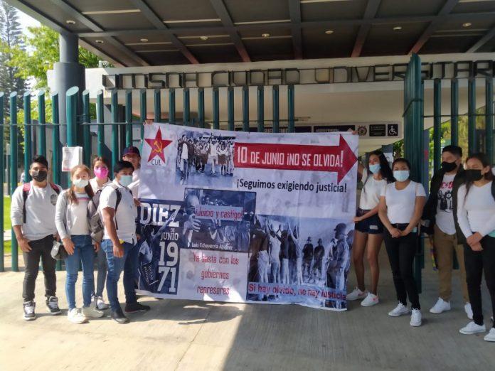 """A 50 años del """"halconazo"""", estudiantes demandaron """"no más represiones"""""""