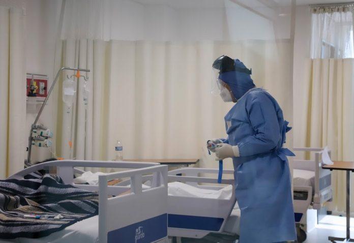 Sin bajar, ocupación hospitalaria en LC por COVID-19