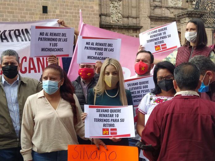 Morenistas insisten en evitar la venta de venta de bienes inmuebles del estado