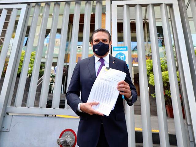 Aureoles Conejo denunciará violación sistemática de sus derechos ante la CDNH