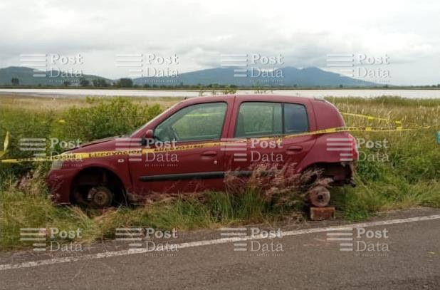 Durante recorridos de vigilancia, agentes de la Secretaría de Seguridad Pública (SSP), localizaron un vehículo que cuenta con reporte de robo