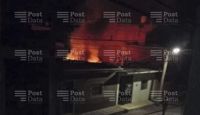 Hombre muere durante incendio de su domicilio en Zacapu