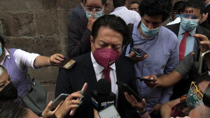 Luego de que el nuevo gobernador de Michoacán, Alfredo Ramírez Bedolla durante su toma de protesta, destacó la presencia del dirigente nacional del partido Morena